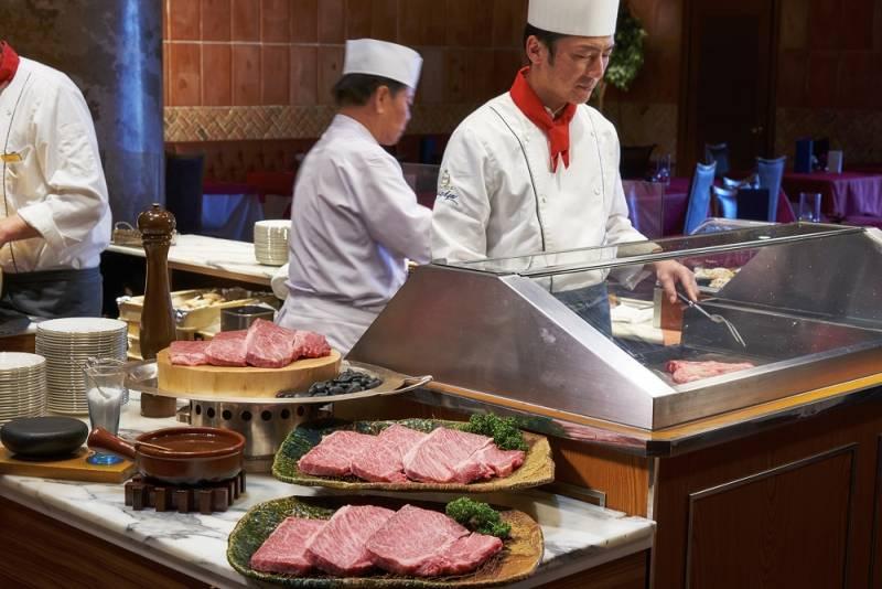北海道十勝産黒毛和牛のステーキ
