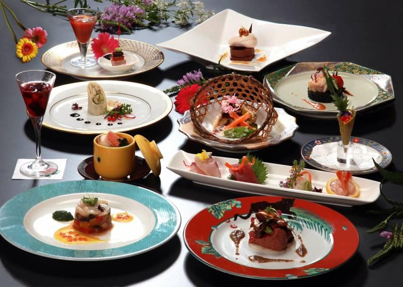 【新プラン】和食会席と創作フレンチの饗宴「よくばり会席」
