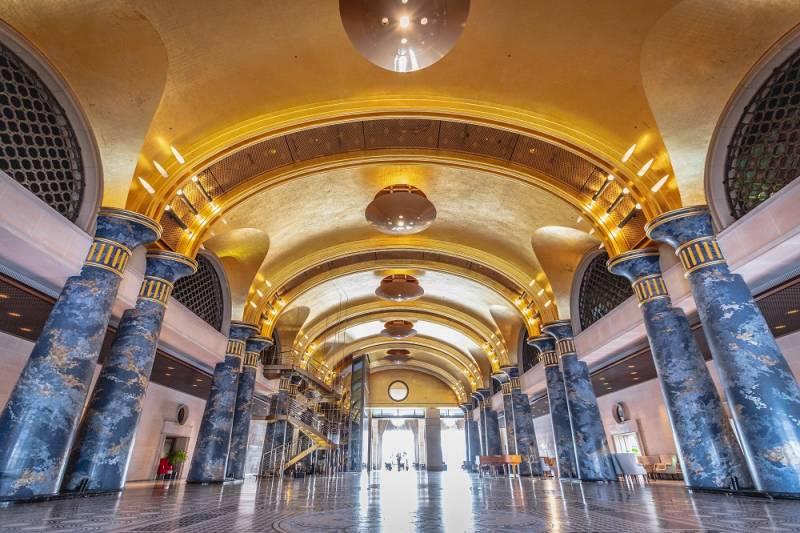 ホテル川久の金箔天井がギネス世界記録™に認定。金箔表面積で世界No.1に。