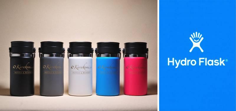 「Hydro Flask®~Karakamiデザイン ~」の販売スタート