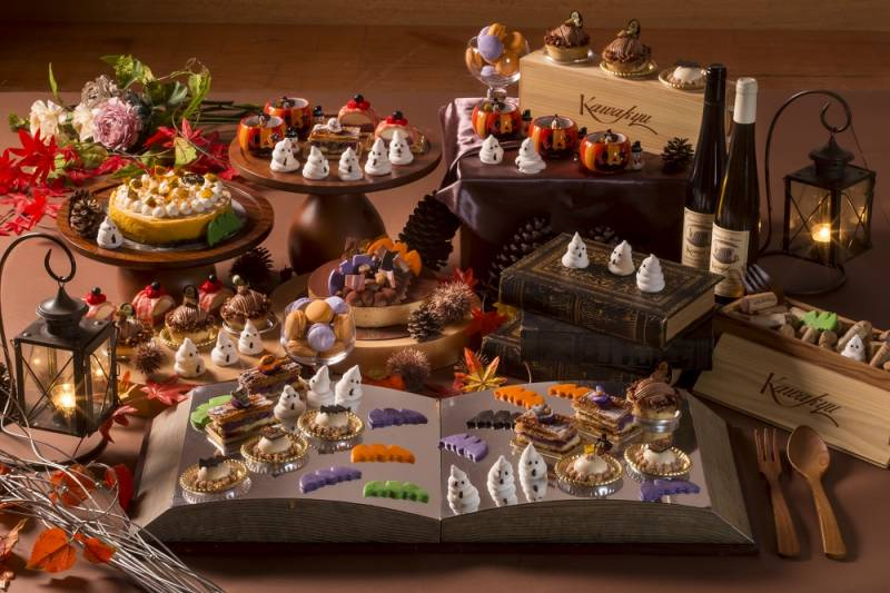 秋のハロウィンスイーツパレード