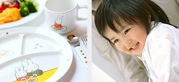 幼児・お子様のお食事について